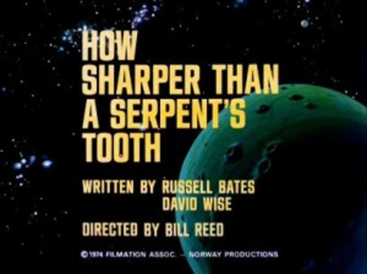 serpents tooth animated Star Trek - Shakespeare
