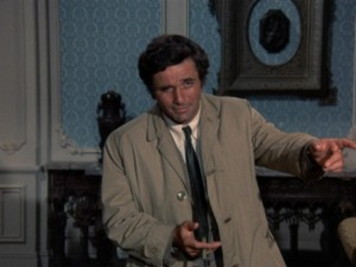 Peter Falk in 'Columbo'