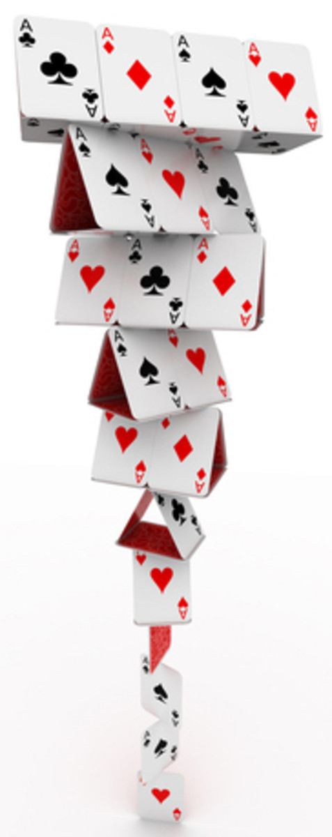 Perfect Structure Is Like Building A House Of Cards