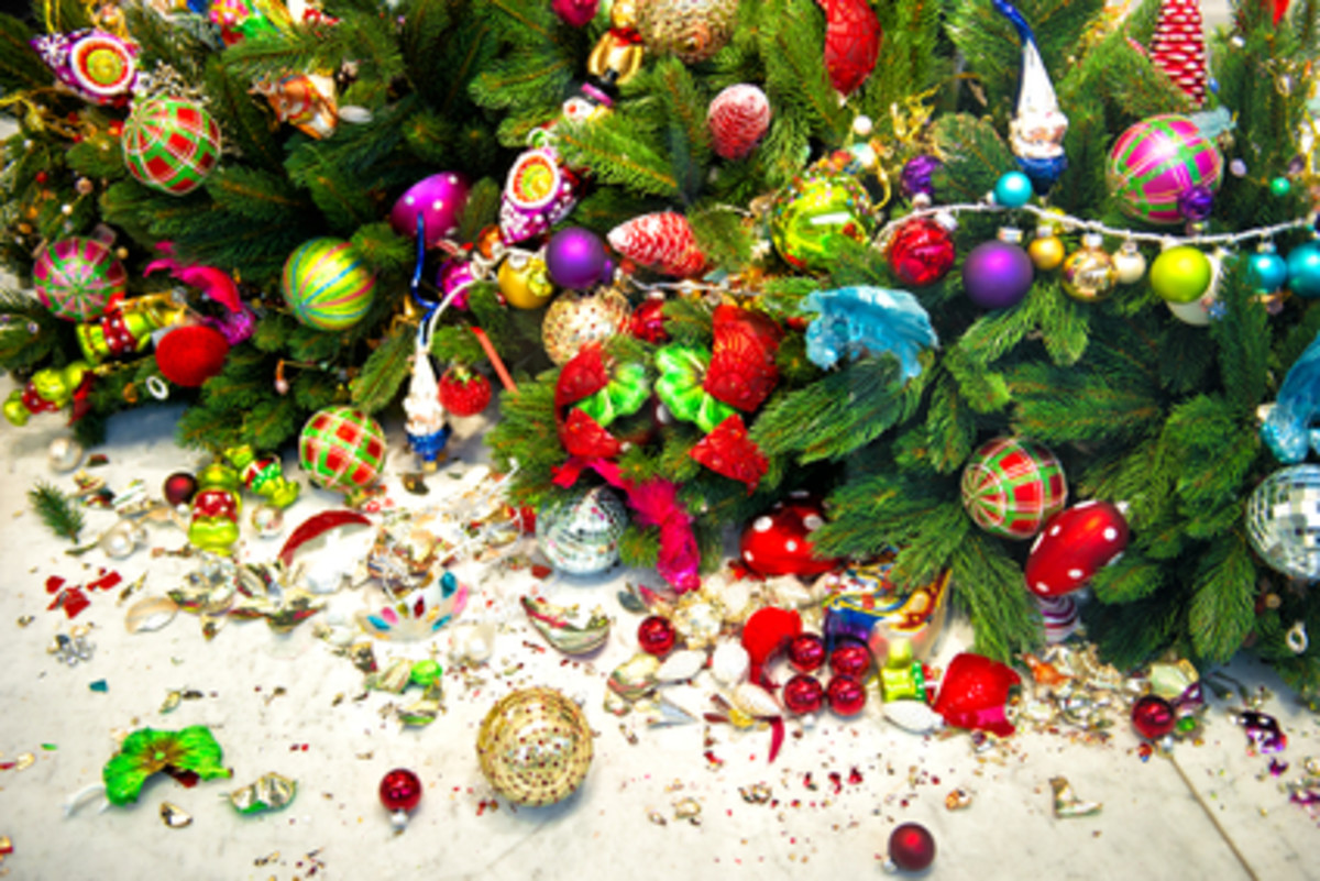 Too Much Tinsel On Your Tree - Overwriting To Distract