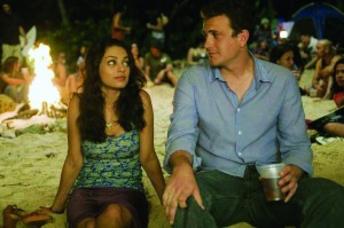 Mila Kunis and Jason Segel in Forgetting Sarah Marshall (Photo: Universal Pictures)