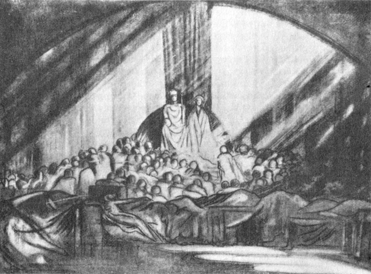 Craig's_design_(1908)_for_Hamlet_1-2_at_Moscow_Art_Theatre