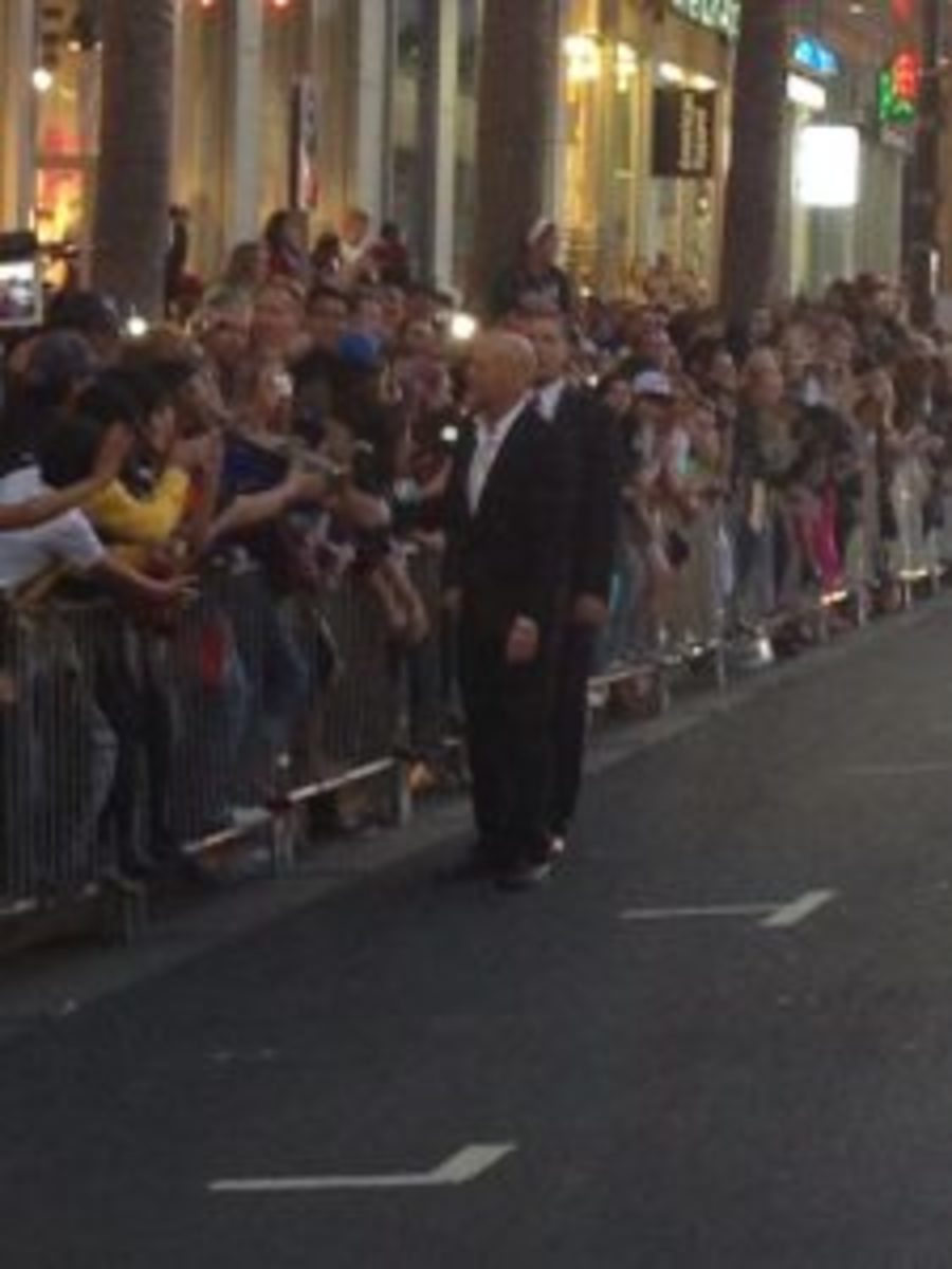 Bruce Willis at the Expendables 2 premiere