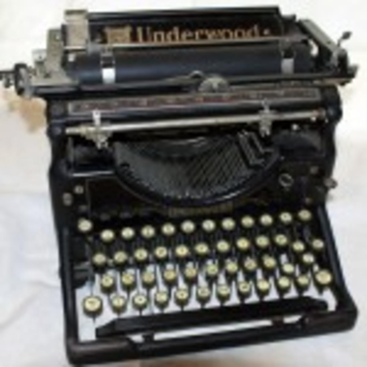 Script Printer Circa 1925
