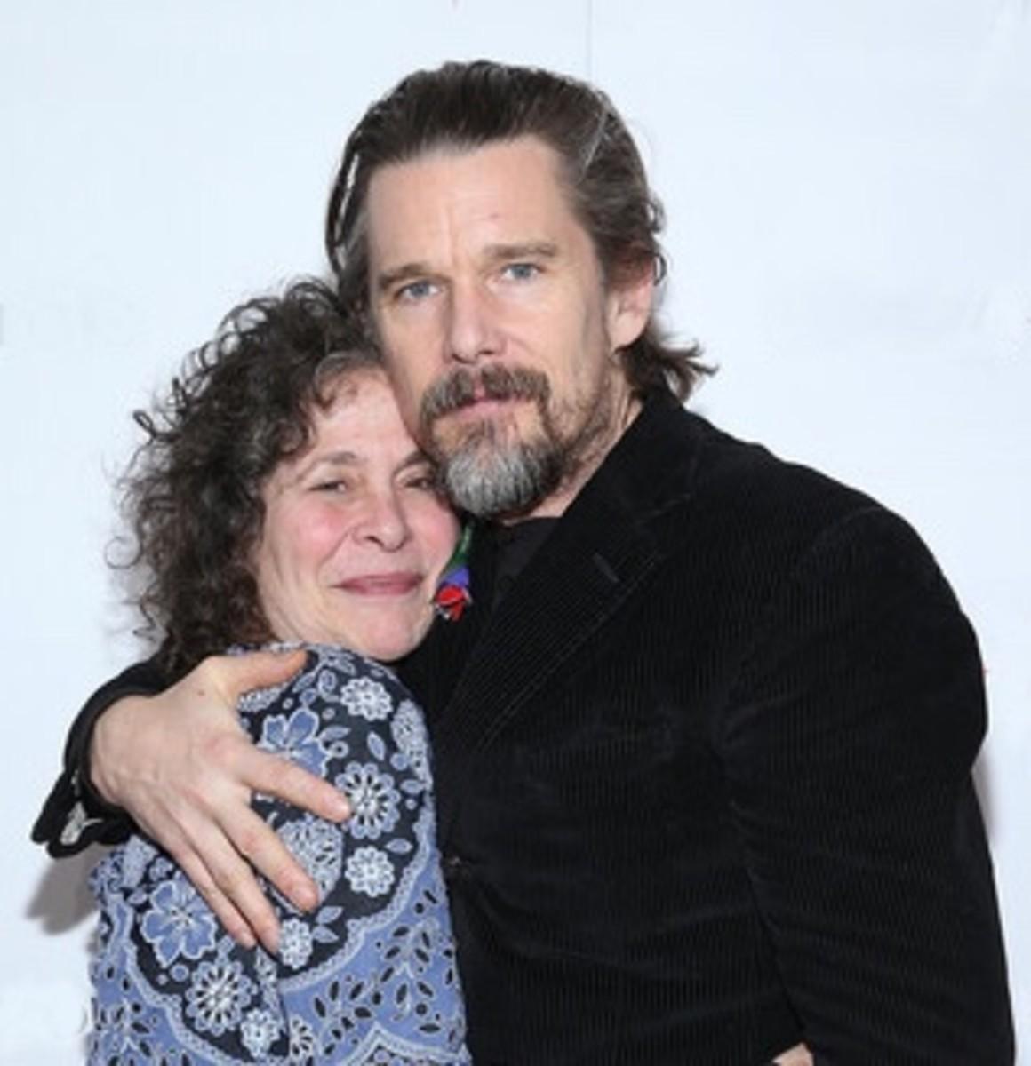 Sybil Rosen and Ethan Hawke