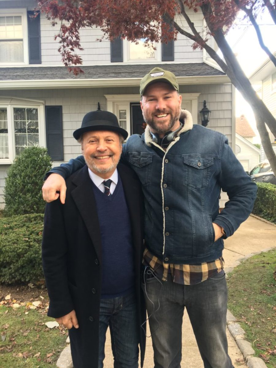 Billy Crystal and Peter Hoare