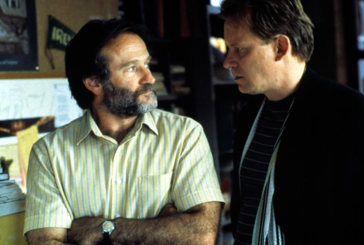 Will is blessed to have two mentors fighting over what's best for him in Good Will Hunting.