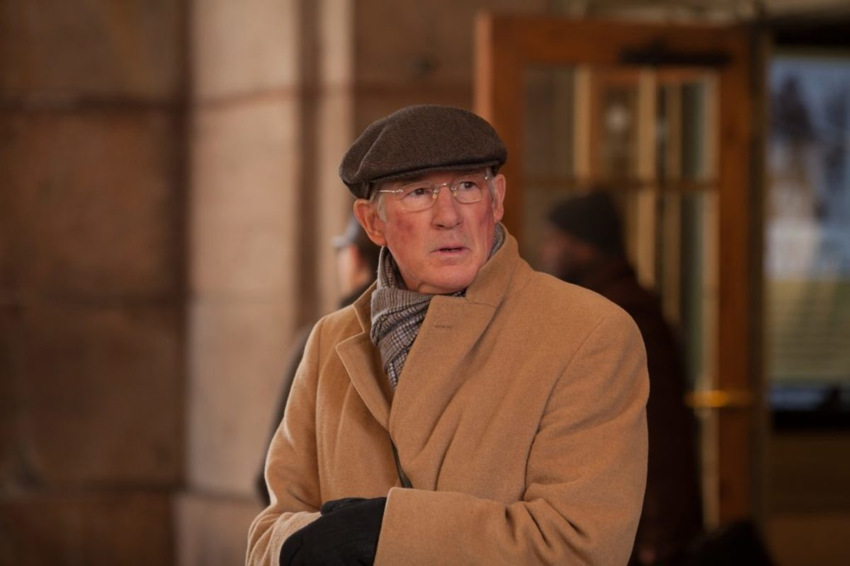 Richard Gere as Norman Oppenheimer. Photo by Linda Kallerus, Courtesy of Sony Pictures Classics