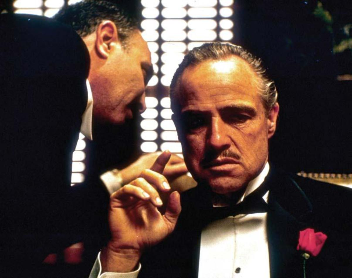 Marlon Brando in The Godfather PHOTO: PARAMOUNT HOME ENTERTAINMENT