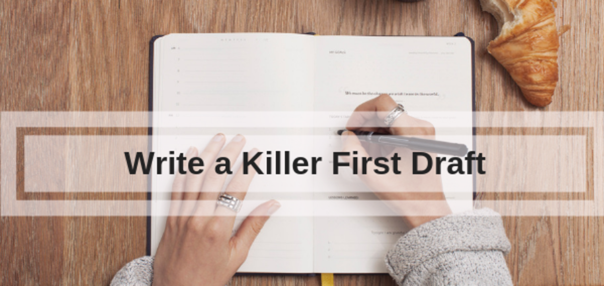 Clive Davies-Frayne shares his process for writing a first draft. Do your development work before you start writing, and discover how to make your first draft all killer with no filler.