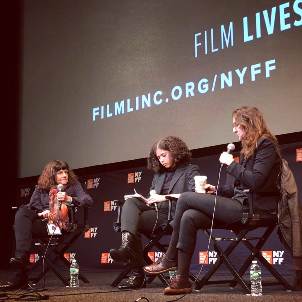 At the New York Film Festival press conference, film critic Amy Taubin interviews ZAMA writer and director Lucrecia Martel.
