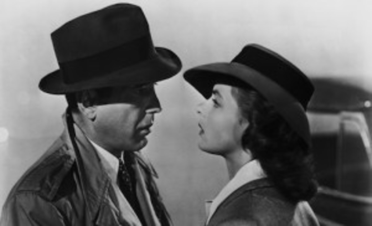 Casablanca is a love story set in a volatile region that always left questions for me. Love trumped Rick's self interest, but it didn't conquer all.