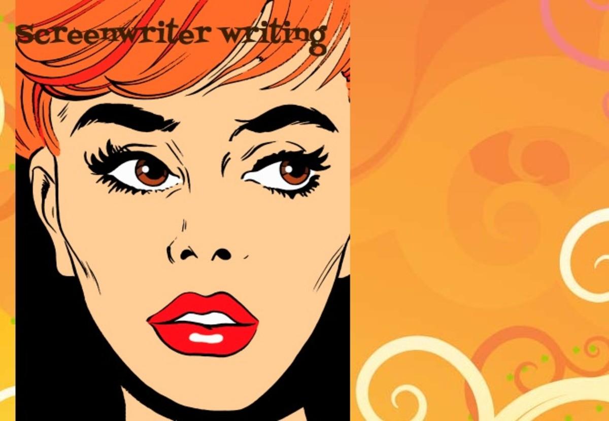 screenwriter writing