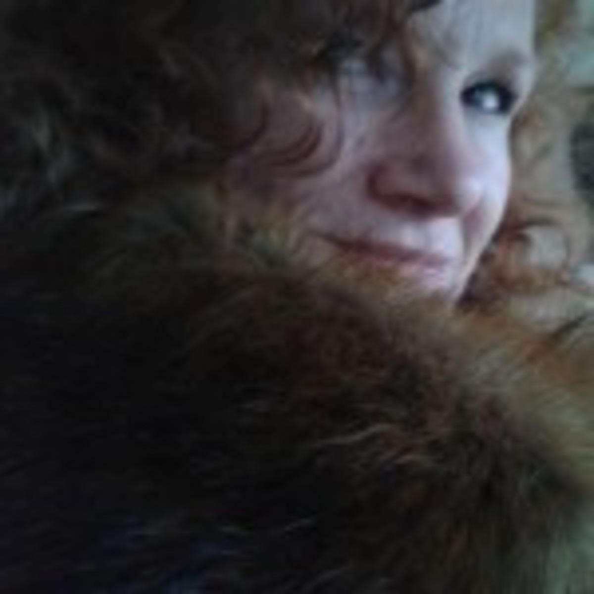 me and fake fur