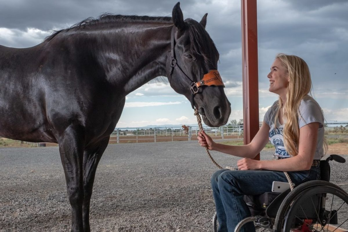 Spencer Locke as Amberley Snyder. Photo courtesy Netflix, Inc.
