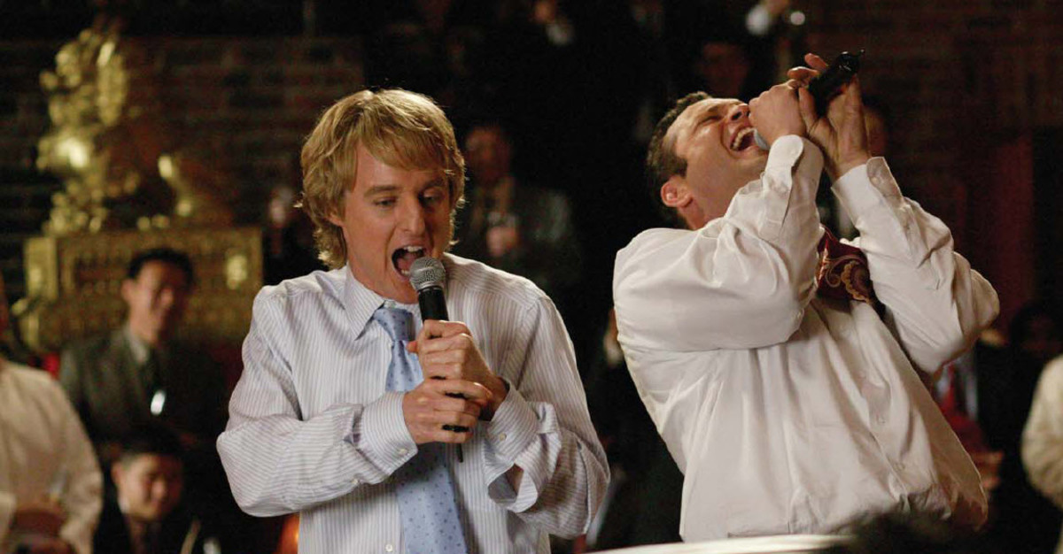 Owen Wilson as John and Vince Vaughn as Jeremy in Wedding Crashers PHOTO: RICHARD CARTWRIGHT COURTESY: NEW LINE CINEMA