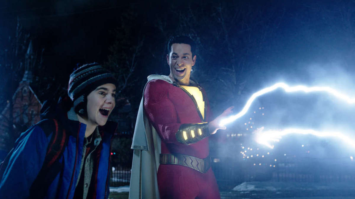 Tom Stempel reviews Captain Marvel, Shazam!, and Us. Explore the screenwriting hits, misses, and opportunities for storytelling and theme that got lost.