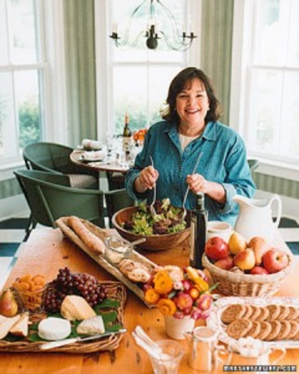 Ina Garten Plans A Meal From Start - The Logline - To Finish - The Screenplay