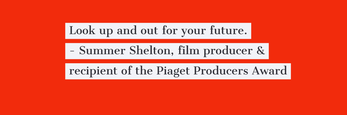 Summer Shelton, Producer, Quote