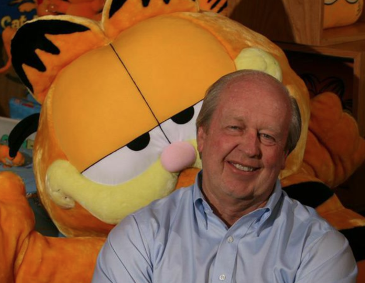 Jim Davis creator of Garfield