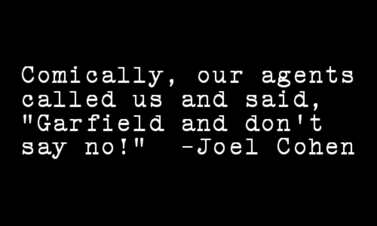 Joel Cohen quote