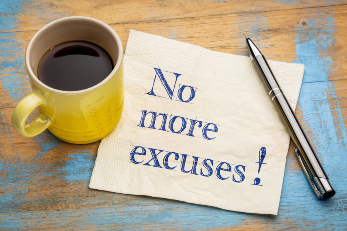 BREAKING IN: The Top 10 Lame-O Excuses For Why You Can't Sell Your Screenplay (And How to Stop Making Them) by Staton Rabin