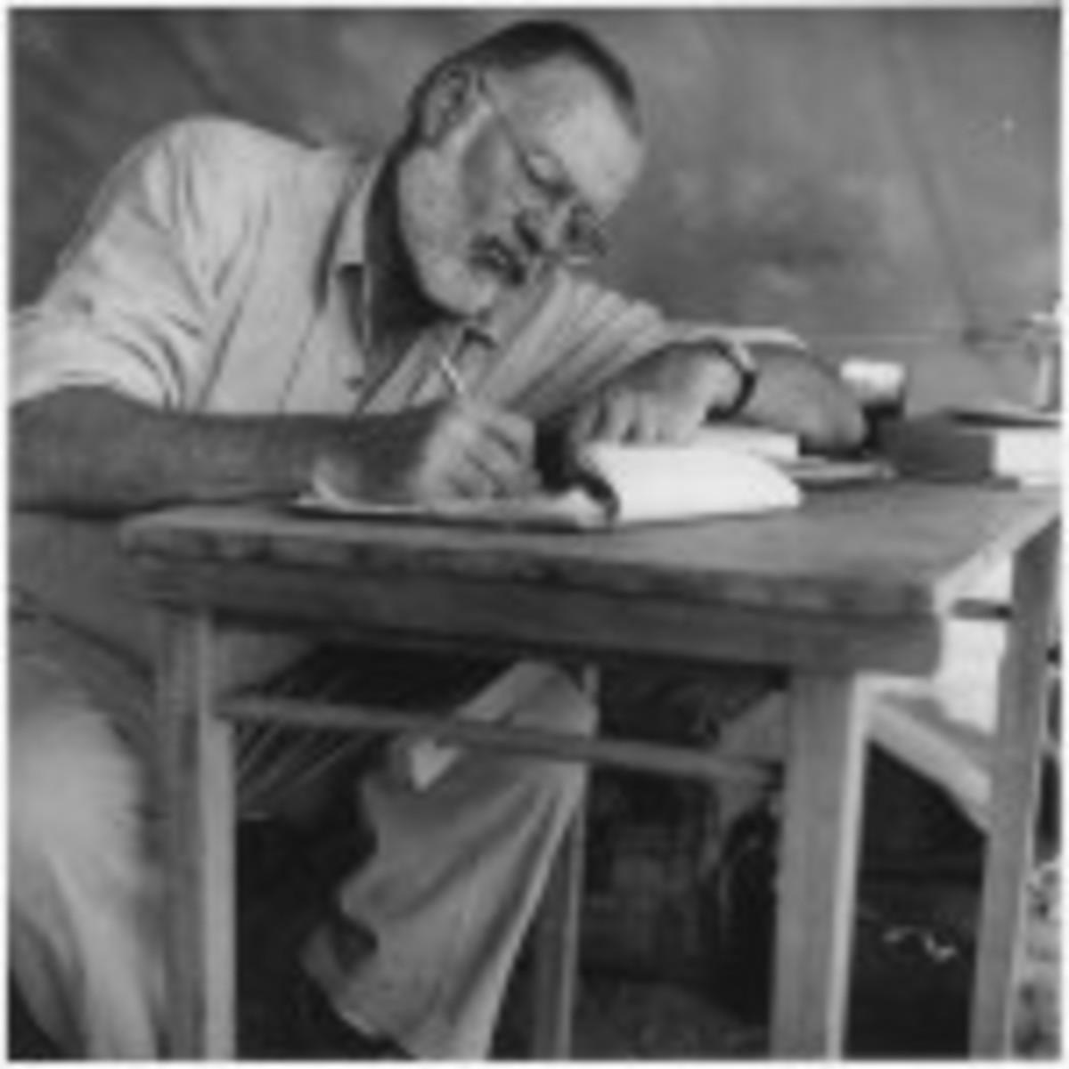 Ernest Hemingway Rewriting