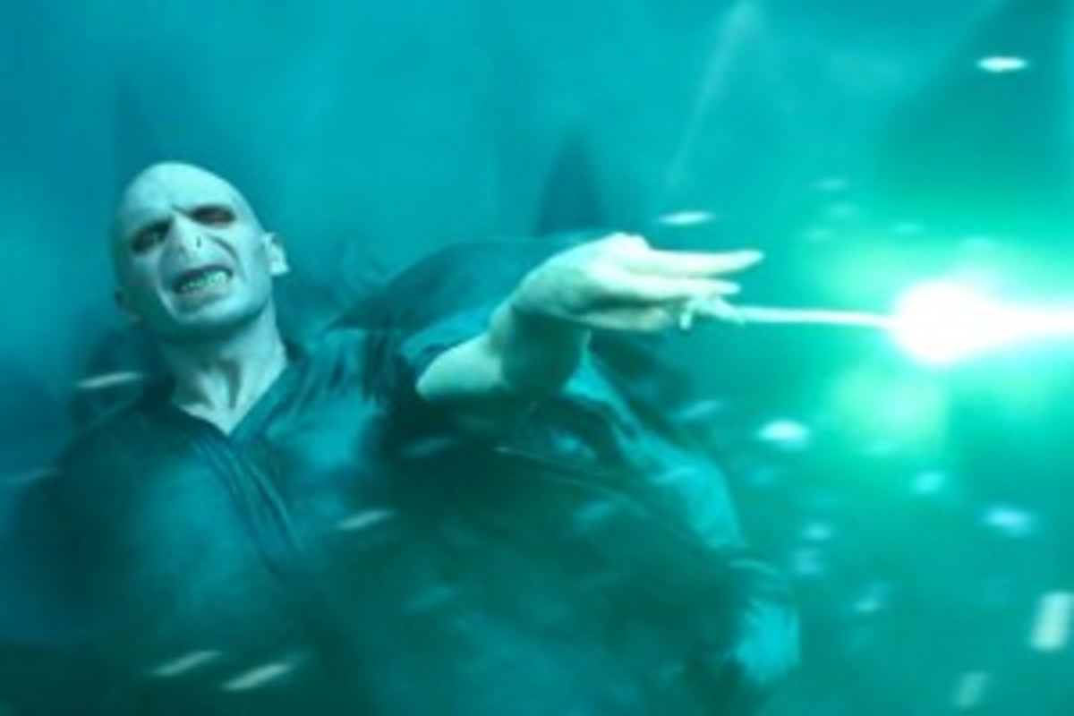 Voldemort from 'Harry Potter'
