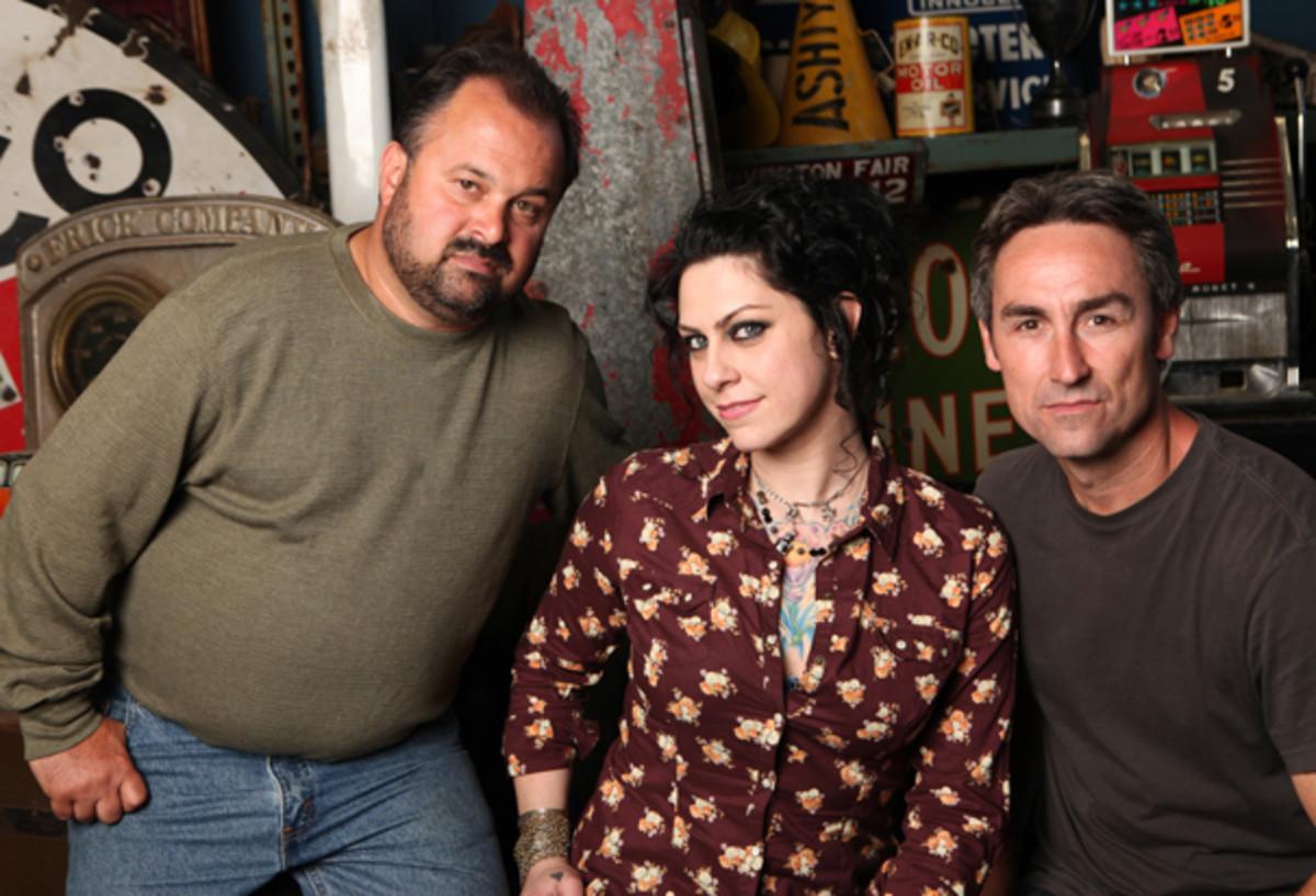 Frank, Danielle, Mike