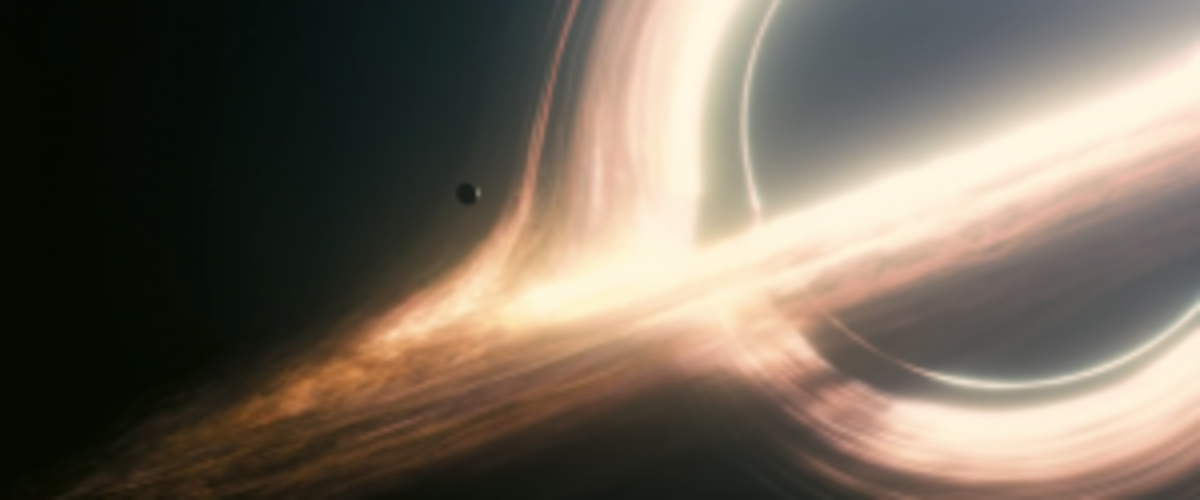 Ultimately, the solution to Interstellar may lie beyond the event horizon of this black hole.