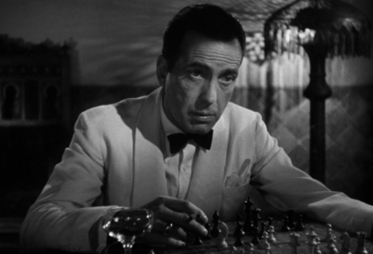 Rick in Casablanca