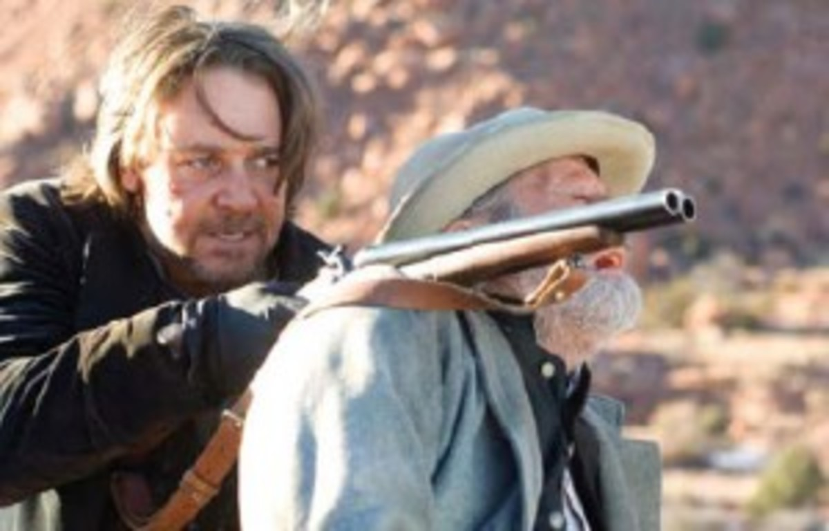 Russell Crowe as Ben Wade in 3:10To Yuma.
