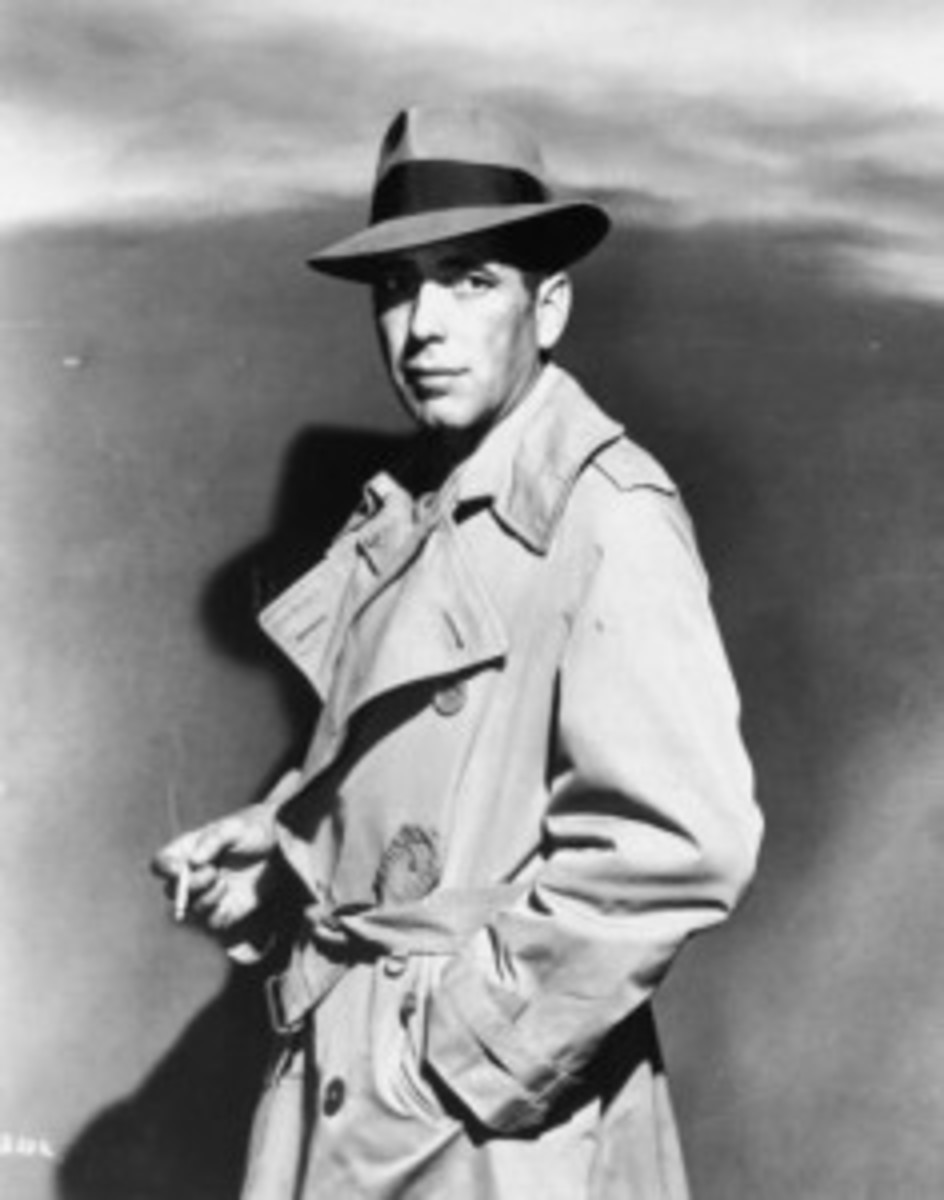 Humphrey Bogart as Samuel Spade in The Maltese Falcon.