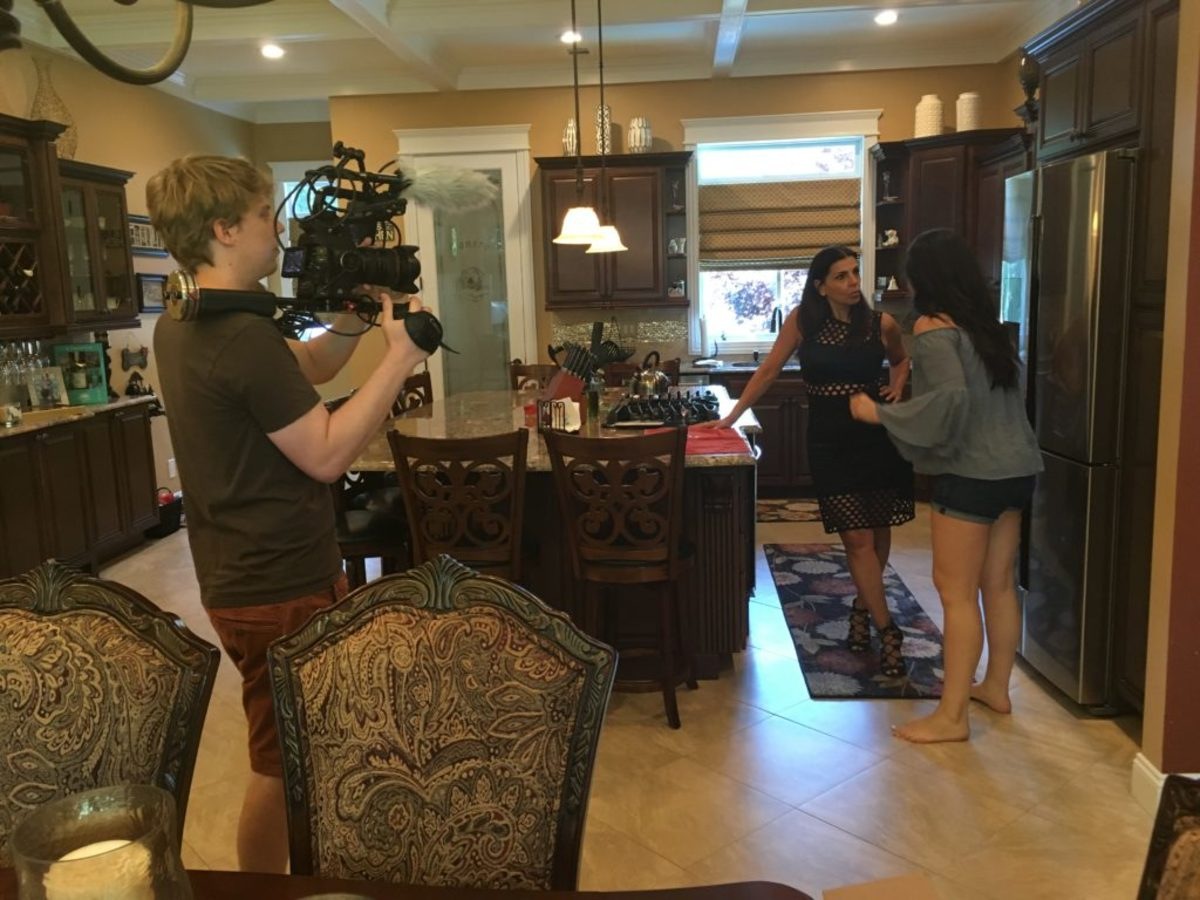"Actors in ""Lorraine Russo's Family Diaries"""