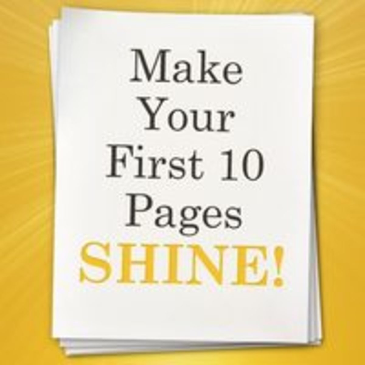 Make the first 10 pages of your screenplay shine and stand out.