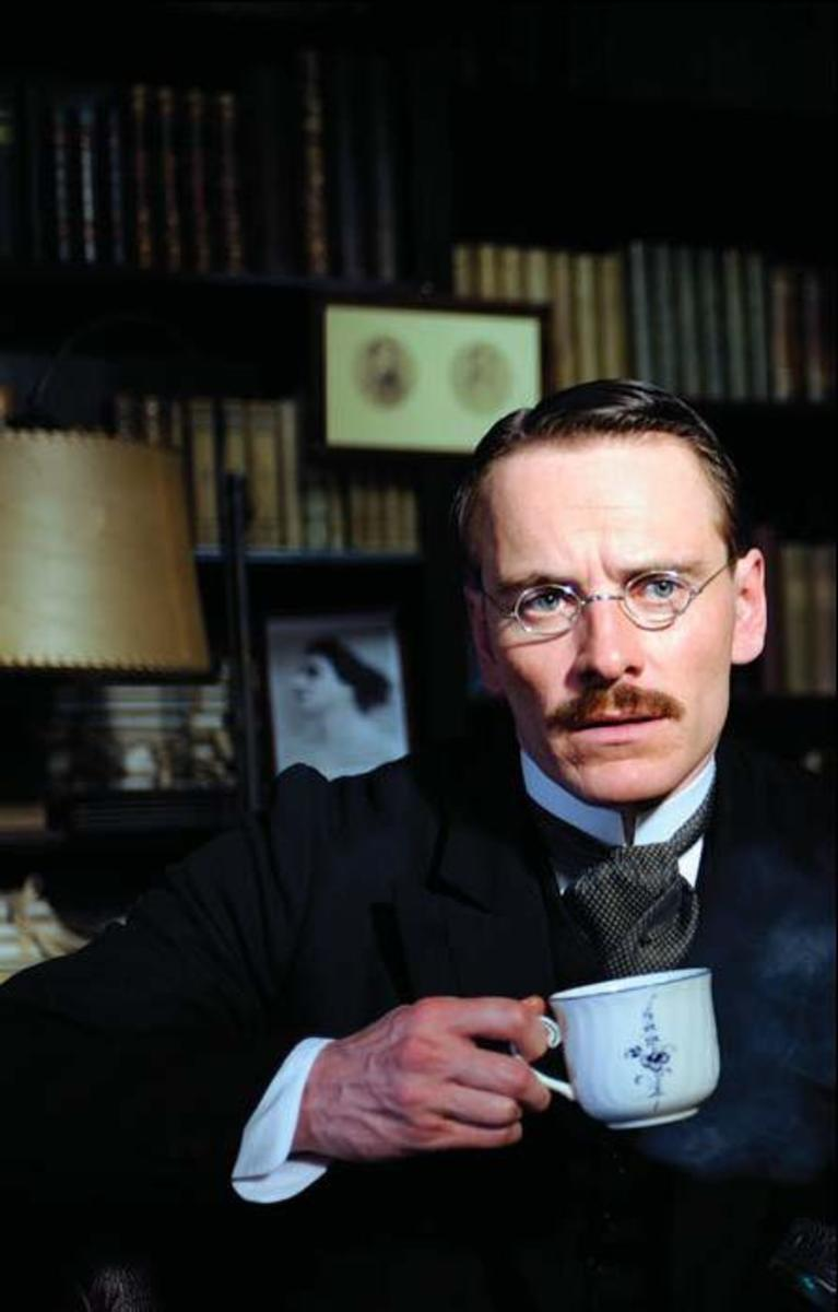 Fassbender and Viggo Mortensen as Sigmund Freud