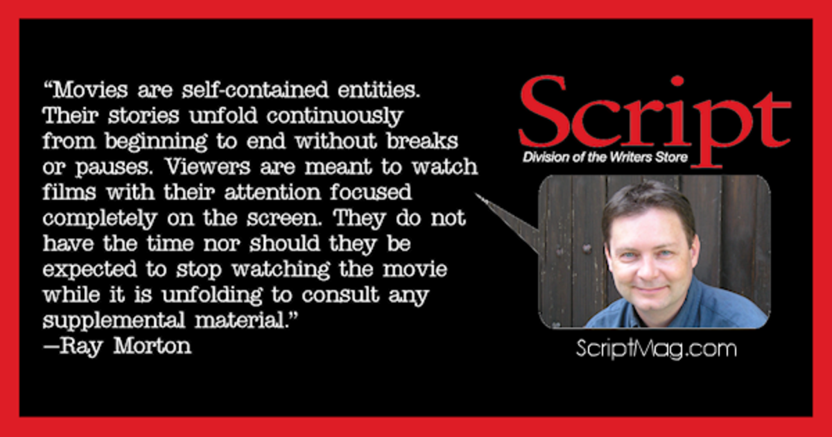 Ray Morton screenplays