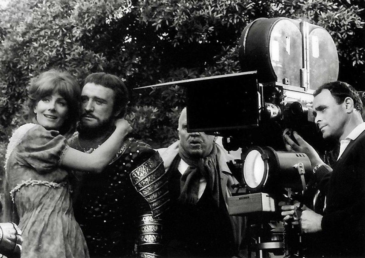 Vanessa Redgrave, Richard Harris, and Richard H. Kline in Camelot (1967) - Photo courtesy of IMDb
