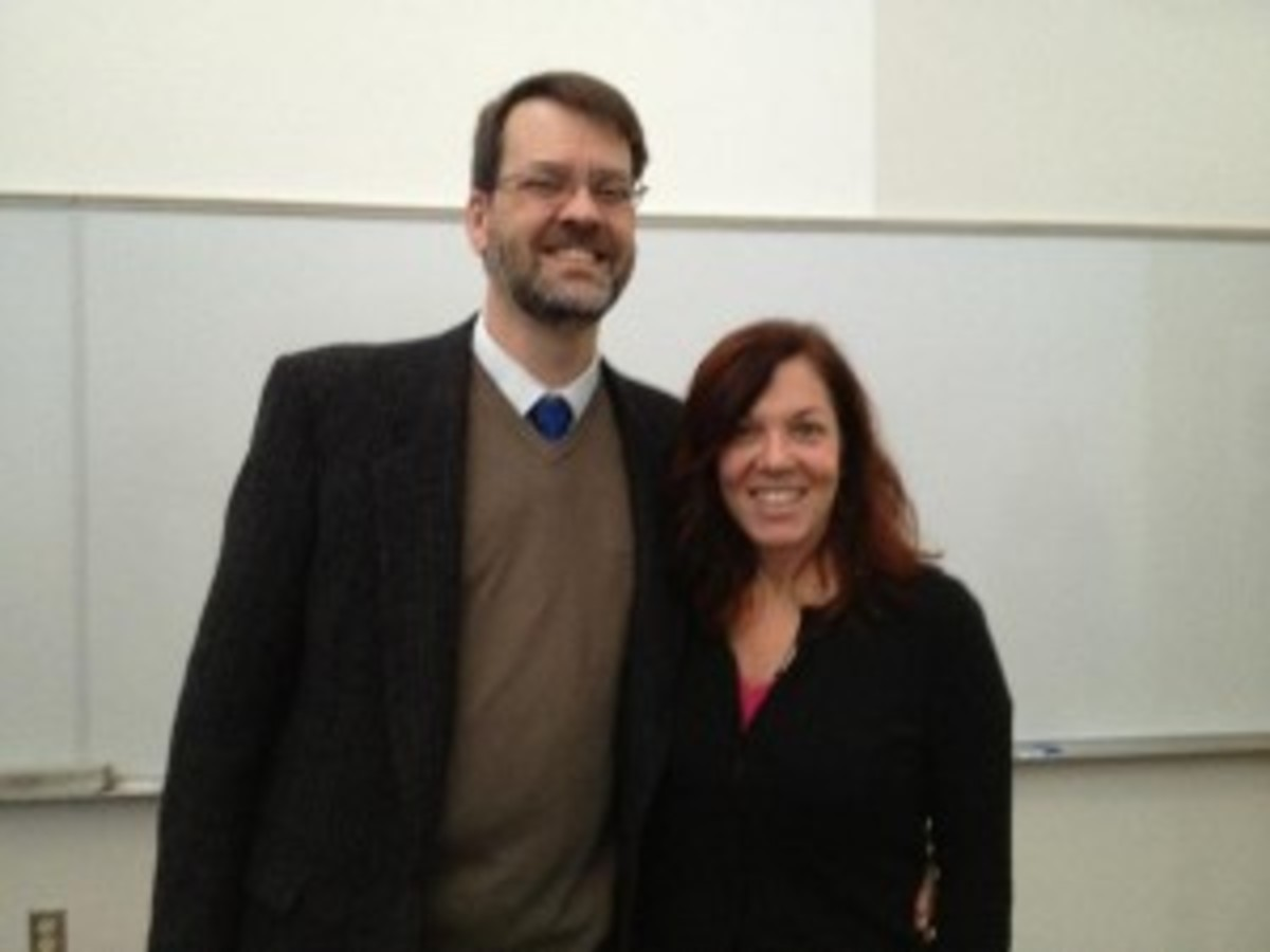 Dr. Rod Miller and Jeanne Veillette Bowerman