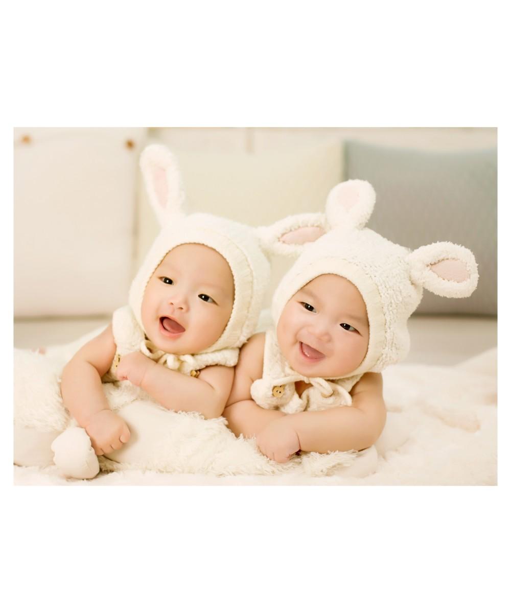 baby-twins-100-days-photo