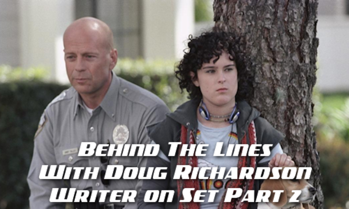 BEHIND THE LINES WITH DR: Writer On Set - One-Figured Gesture, Part 2 by Doug Richardson | Script Magazine #scriptchat #screenwriting