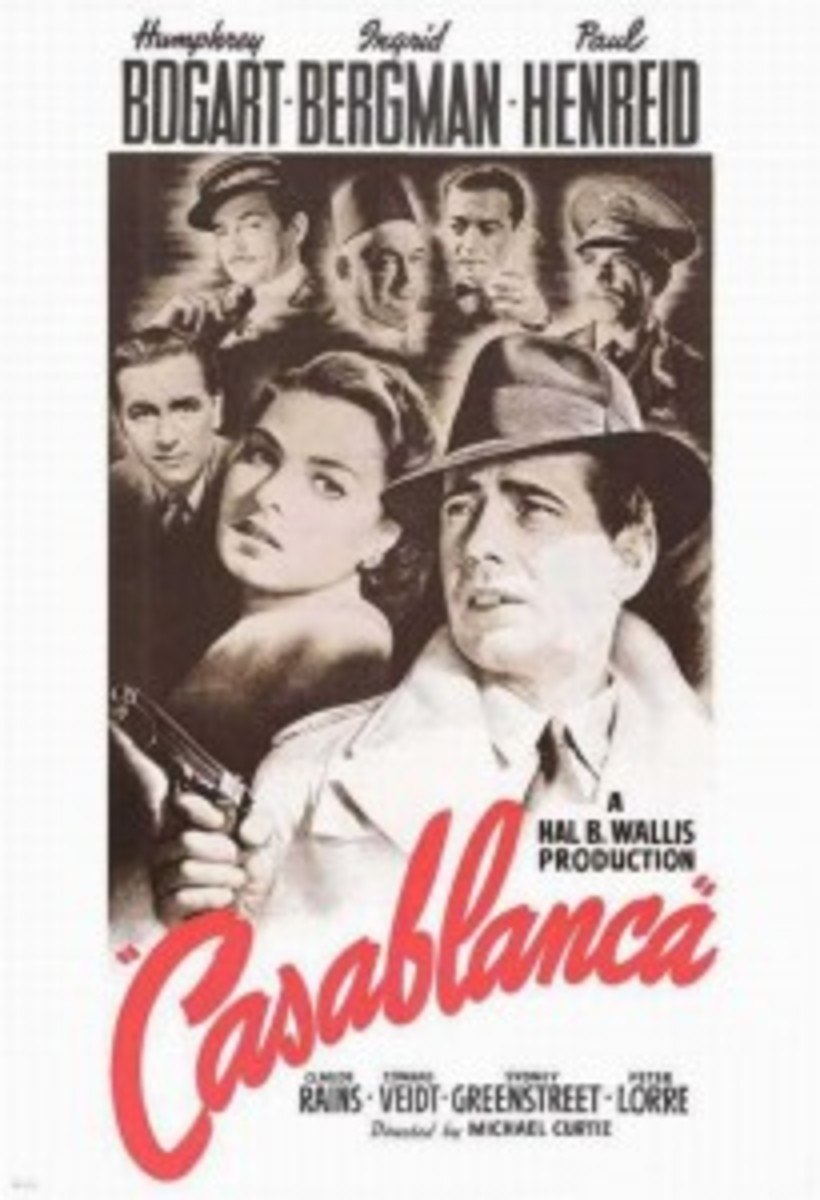 Undoubtedly one of my favorites, WGA members voted 'Casablanca' the best screenplay ever written.