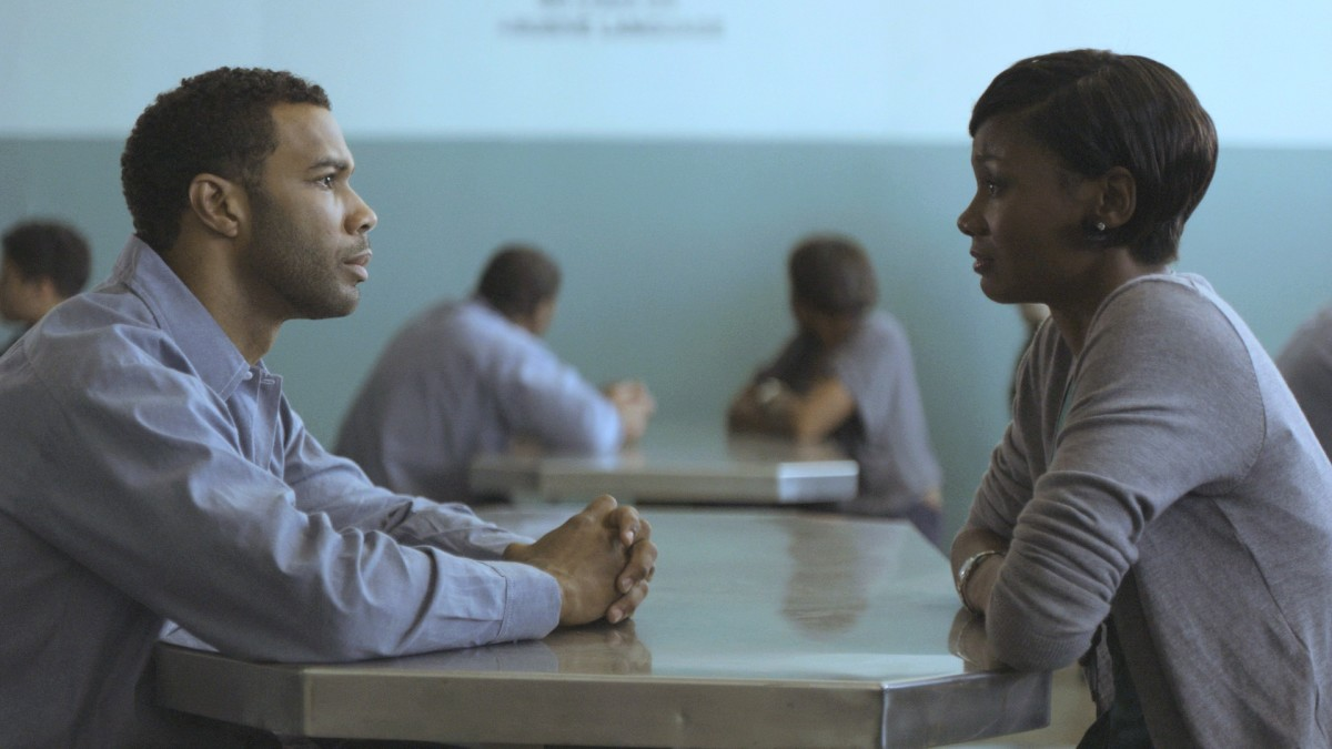 "Omari Hardwick as ""Derek"" and Emayatzy Corinealdi as ""Ruby"" in Ava DuVernay's Sundance award-winning MIDDLE OF NOWHERE. Photo courtesy of AFFRM."