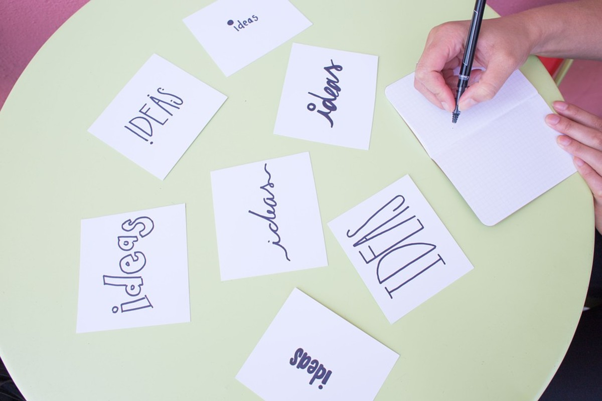 WRITER'S EDGE: Brainstorming Technique - The Ultimate Blank by Steve Kaire | Script Magazine