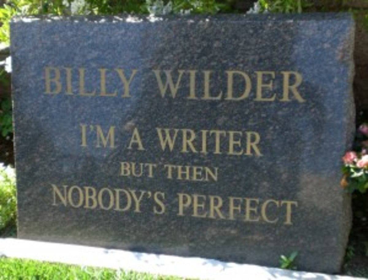 Billy Wilder - His films should be on your list!