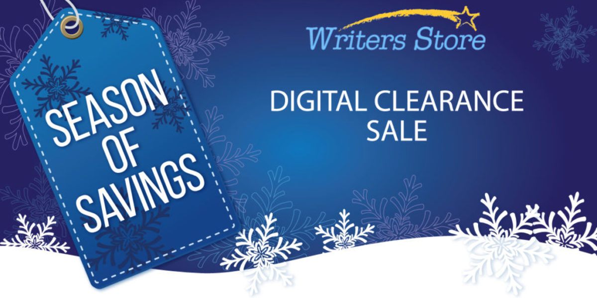 Save with The Writers Store Season of Savings! Don't miss this chance to get discounts on gifts for the writers in your life... or for yourself!