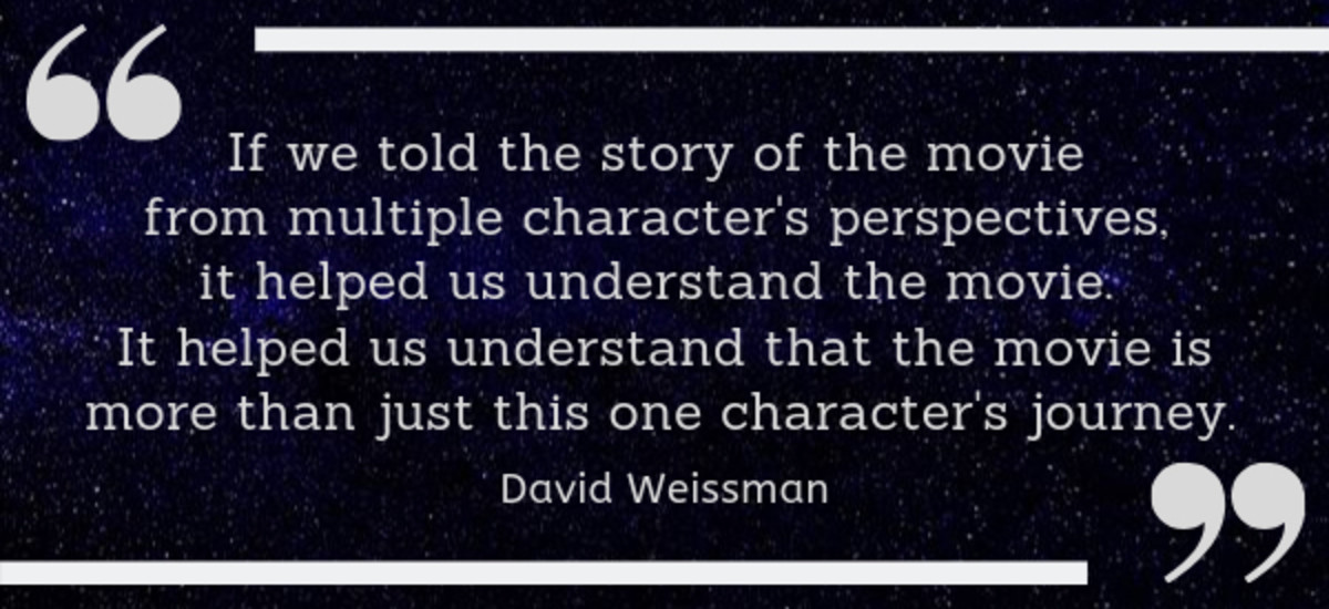 David Weissman on Screenwriting Techniques