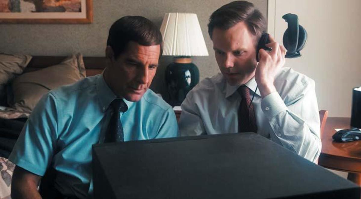 Scott Bakula as Agent Brian Shepard and Joel McHale as Agent Bob Herndon