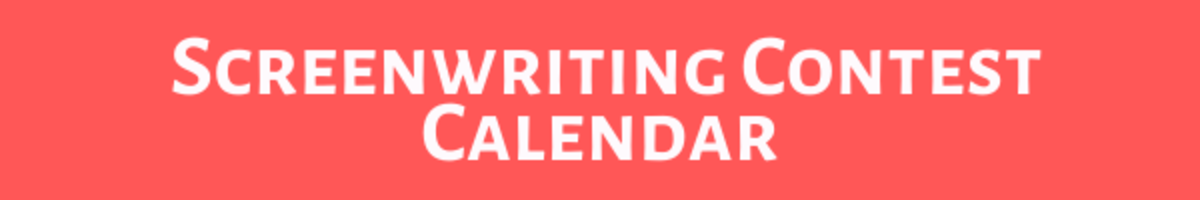 screenwriting contest calendar