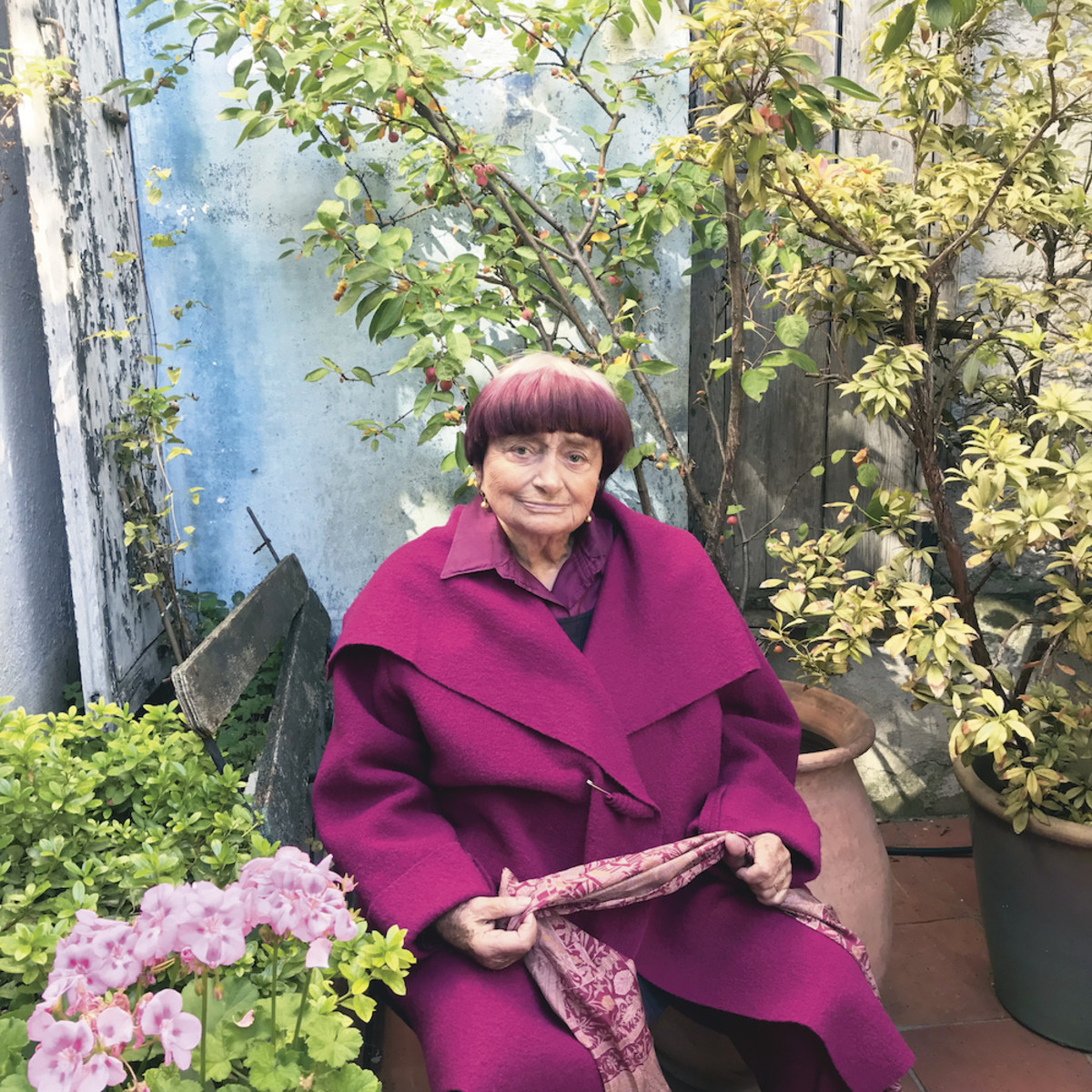 Portrait of Agnès Varda - Courtesy of Ciné-Tamaris